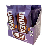 Unreal Brands Dark Chocolate Almond Butter Cups Snack Pack - 12 Pack