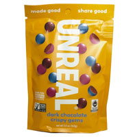 Unreal Dark Chocolate Crispy Gems * 5 OZ