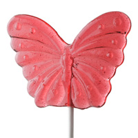 Watermelon Butterfly Lollipop