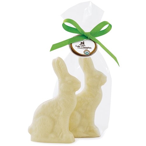 White Chocolate Bunny - Organic & Fair Trade
