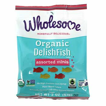 Wholesome Organic DelishFish Assorted Minis * 2 OZ