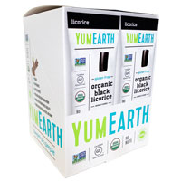 YumEarth Organic Gluten Free Black Licorice