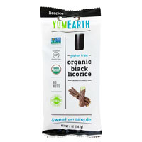 YumEarth Organic Gluten Free Black Licorice * 2 OZ