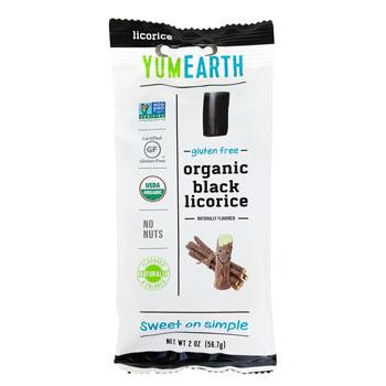 YumEarth Organic Gluten Free Black Licorice * 2 OZ