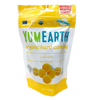 YumEarth Organic Cheeky Lemon Candy Drops