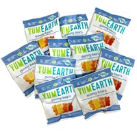 YumEarth Assorted Flavor Gummy Bears - Snack Size
