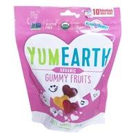 YumEarth Organic Valentine Heart Gummy Fruits - Snack Size