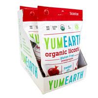 YumEarth Organic Gluten Free Pomegranate Licorice