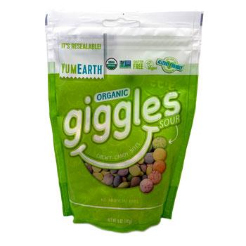 YumEarth Organic Sour Giggles * 5 OZ