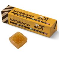 Zot Organic Hard Candy Stick - Butterscotch