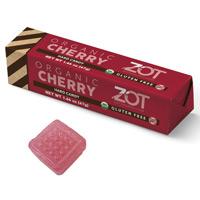 Zot Organic Hard Candy Stick - Cherry