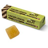 Zot Organic Hard Candy Stick - Ginger Lemon