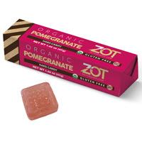 Zot Organic Hard Candy Stick - Pomegranate