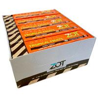 Zot Organic Hard Candy Stick - Tropical Fruits 10 pack