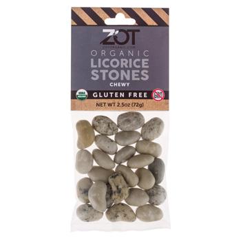 Organic Chewy Licorice Stones * 2.5 OZ