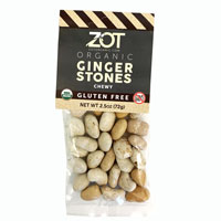 Organic Chewy Ginger Stones * 2.5 OZ