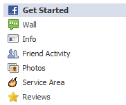 Nearby Now includes two Facebook Tabs that you can easily add to your business's Facebook page.
