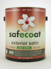 Safecoat Exterior Satin - Pure White