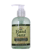 Hand Sanz Antiseptic Hand Sanitizer w/Aloe & Vit E