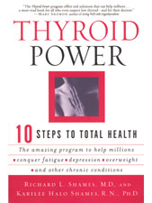Thyroid Power by Richard Shames, M.D. & Karilee Halo Shames, R.N., Ph.D.