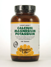 Target-Mins Calcium Magnesium Potassium
