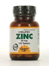 Chelated Zinc 50 mg