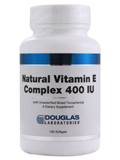 Natural Vitamin E Complex 400 IU
