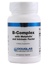 B-Complex with Metafolin and Intrinsic Factor