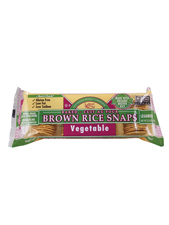 Brown Rice Vegetable Snaps