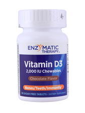 Vitamin D3 - Chocolate 2,000 IU