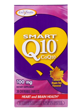 Smart Q10 CoQ10 - Maple Nut Flavored 100 mg