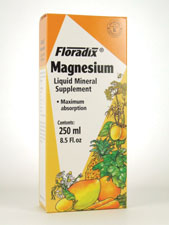 Floradix Magnesium Liquid Mineral Supplement 250 mg