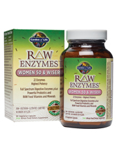 RAW Enzymes - Women 50 & Wiser