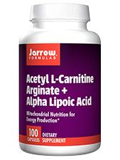 Acetyl L-Carnitine Arginate + Alpha Lipoic Acid