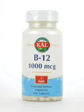 B-12 1,000 mcg