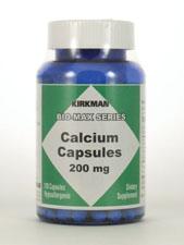 Calcium Capsules 200 mg