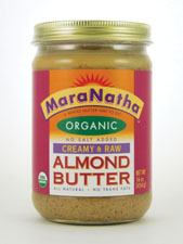 Organic Creamy & Raw Almond Butter