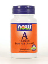 A from Fish Liver Oil 10,000 IU