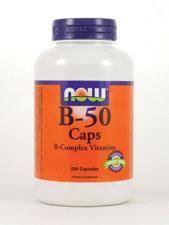 B-50 Caps B-Complex Vitamins