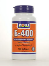E-400 100% Natural d-Alpha Tocopheryl 400 IU