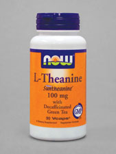 L-Theanine with Decaffeinated Green Tea 100 mg
