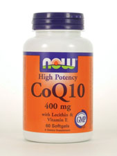 High Potency CoQ10 with Lecithin & Vitamin E 400 mg