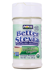 Better Stevia Certified Organic Extract Powder