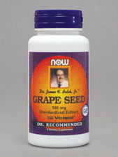 Grape Seed Standardized Extract 100 mg