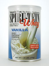 Spiru-Tein Whey High Protein Energy Meal - Vanilla