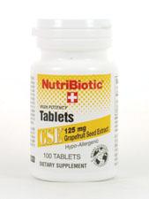 GSE High Potency Tablets 125 mg