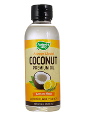Coconut Oil - Lemon Herb