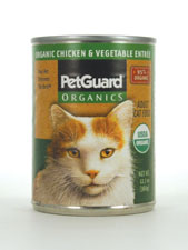 Organic Chicken & Vegetable Entrée Adult Cat Food