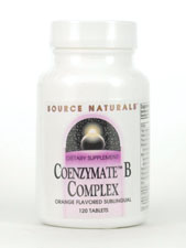 Coenzymate B Complex Orange Flavored Sublingual