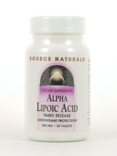 Alpha Lipoic Acid - Timed Release 300 mg